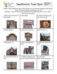 Swadlincote Town Quiz - South Derbyshire District Council