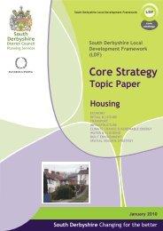 Housing - South Derbyshire District Council