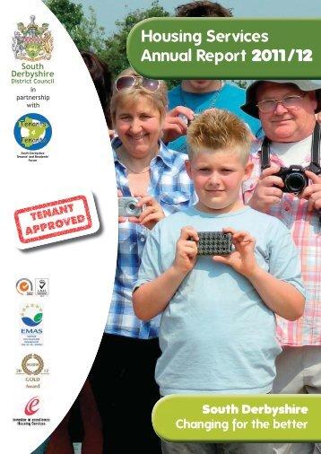 Housing Annual Report 2011-12 - South Derbyshire District Council