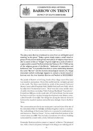 Conservation Areas in Barrow on Trent - South Derbyshire District ...