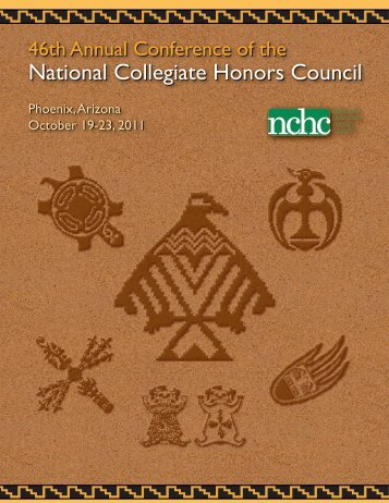 2011 Annual Conference Program - National Collegiate Honors ...