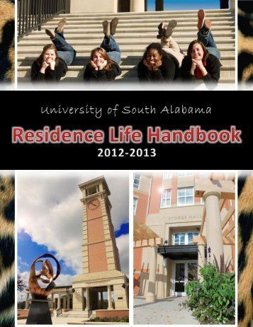 Residence Life Handbook - University of South Alabama
