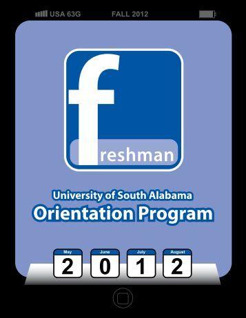 University of South Alabama Orientation Program