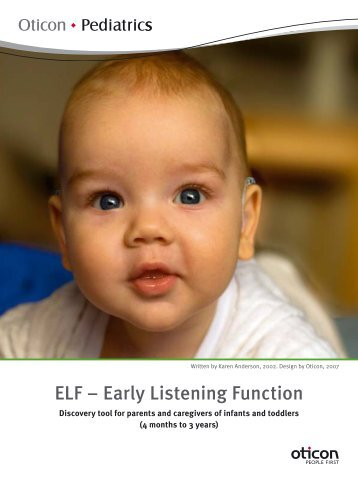 ELF – Early Listening Function - University of South Alabama