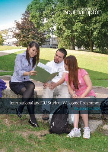 International and EU Student Welcome Programme September 2012