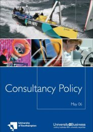 Full guide to Consultancy Policy May 2006 Page 1 - University of ...
