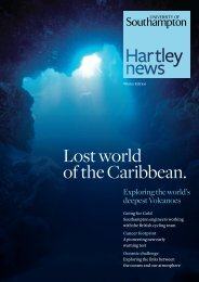 Lost world of the Caribbean. - University of Southampton