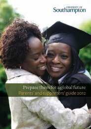 Parents - University of Southampton