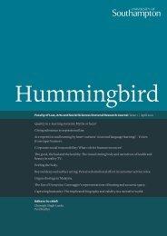 Hummingbird - University of Southampton