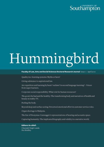 Hummingbird - University of Southampton