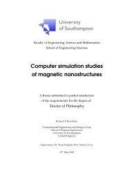 my thesis - University of Southampton