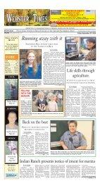 September 27, 2013 - Stonebridge Press and Villager Newspapers