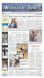 February 22, 2013 - Southbridge Evening News