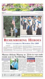 Blackstone Valley Tribune - Stonebridge Press and Villager ...