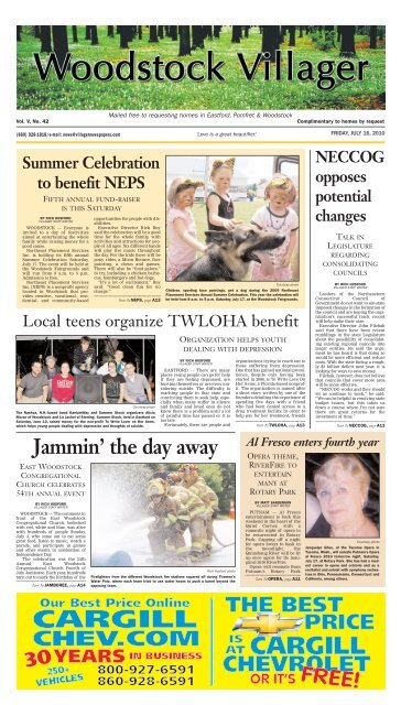 Woodstock Villager - Southbridge Evening News