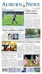 the auburn news - Stonebridge Press and Villager Newspapers