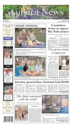 August 04, 2012 - Stonebridge Press and Villager Newspapers