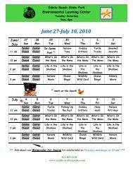 June 27-July 10, 2010 - South Carolina Parks