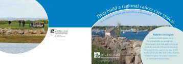 Download a brochure (PDF) - Southcoast Health System
