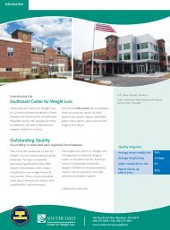 Southcoast Center for Weight Loss - Southcoast Health System