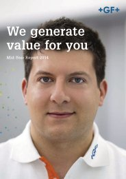 We generate value for you