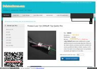 Pointeur Laser Vert 2000mW Top Qualite Prix