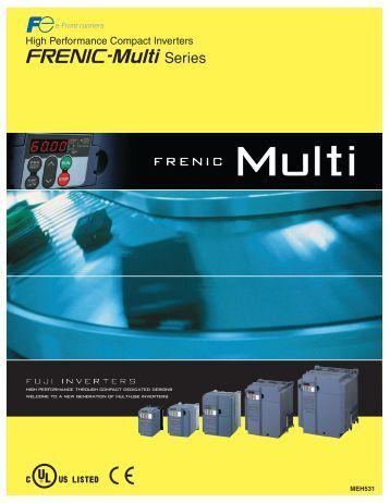 Fuji Multi Drive manual