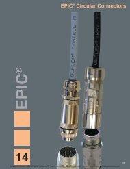 EPIC® Circular Connectors - AA Electric