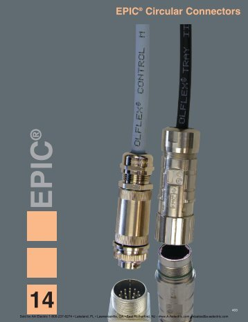 EPIC® Circular Connectors - AA Electric