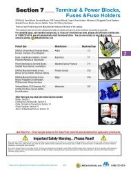 terminal & power blocks, fuses and fuse holders - AA Electric
