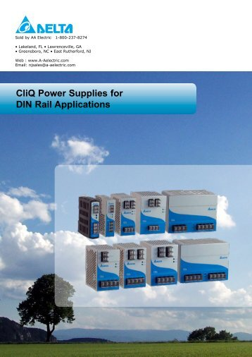 60 W 3 Phase CliQ Power Supply - AA Electric