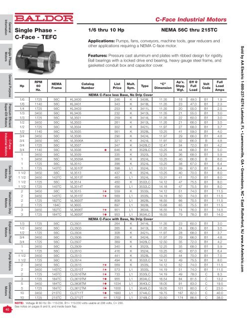 1725 RPM NEW BALDOR ELECTRIC MOTOR VNM3542  3//4 HP