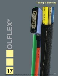 tubing & sleeving selection guide - AA Electric
