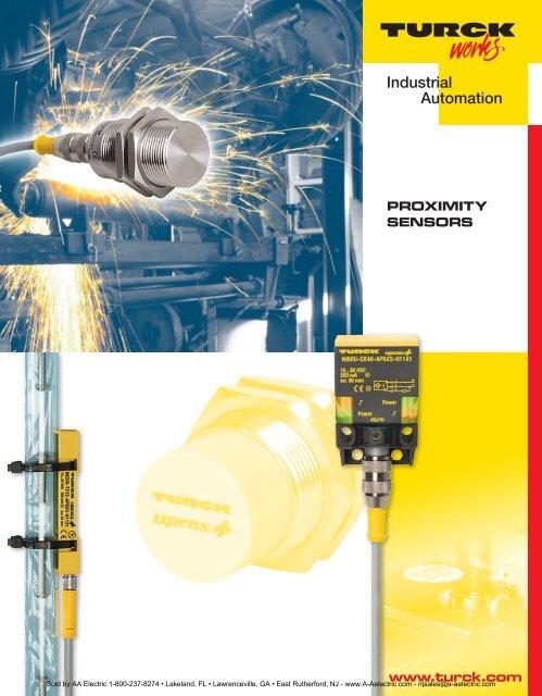 PROXIMITY SENSORS www.turck.com - AA Electric   Turck Sensor Wiring Diagram Pnp      Yumpu