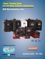 Selection Guide Rev. E - AA Electric