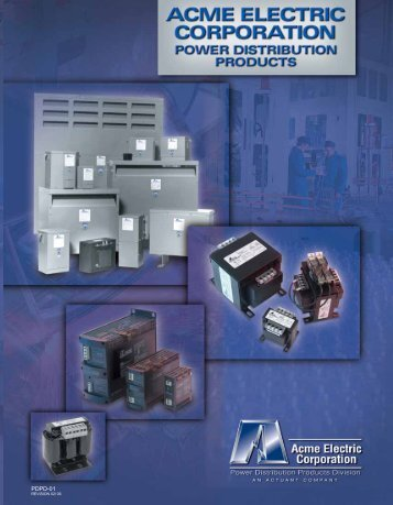 A CME ELECTRIC CORPORA TION PDPD-01 - AA Electric