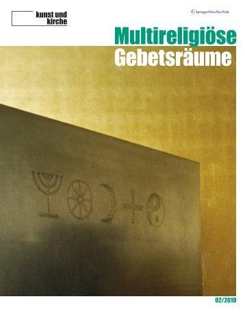 2010-02: Multireligiöse Gebetsräume