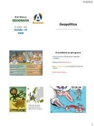 Geopolítica - Curso e Colégio Acesso