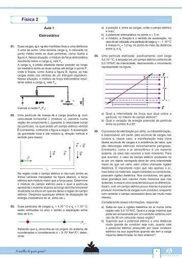 Física 2 - Curso e Colégio Acesso