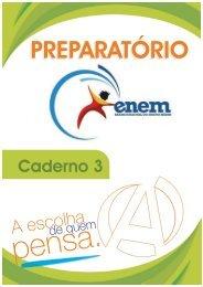 Caderno 3 - Curso e Colégio Acesso