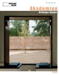 2007-02: Akademien. Bildungs-Räume.