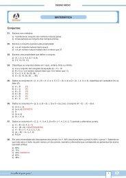 Conjuntos: MATEMÁTICA - Curso e Colégio Acesso