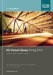 ICE Virtual Library Pricing 2012