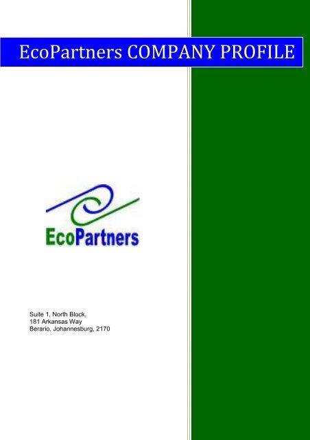 EcoPartners Company Profile pdf - Kwikwap