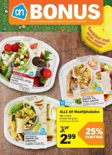 Albert Heijn folder week 29 2014 folder
