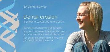 Dental erosion - SA.Gov.au