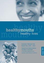 National Oral Health Plan - Australian Dental Association