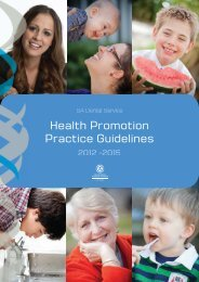 Health Promotion Practice Guidelines (PDF 5MB) - South Australian ...
