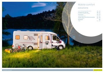 Mobile comfort solutions - Southdowns Motorhome Centre