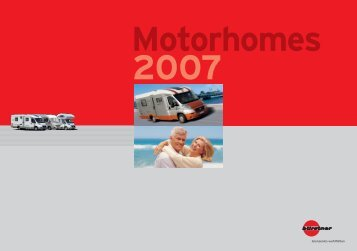 2007 Bürstner Motorhome Brochure - English version (26.8 MB PDF)